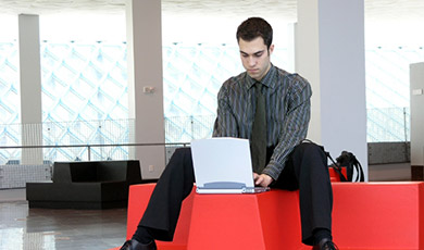 """Workplace design for today's """"knowledge worker"""":"""