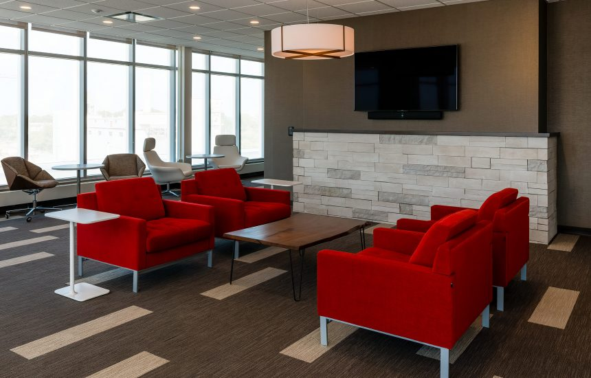 Indiana University – Hodge Hall Collaboration Room
